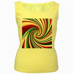 Lollipop Women s Yellow Tank Top by Valentinaart