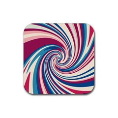 Lollipop Rubber Coaster (square)  by Valentinaart
