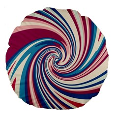 Lollipop Large 18  Premium Flano Round Cushions by Valentinaart