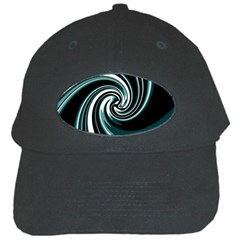 Elegant Twist Black Cap