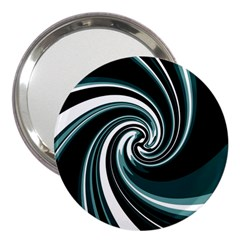 Elegant Twist 3  Handbag Mirrors by Valentinaart