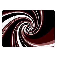Decorative Twist Samsung Galaxy Tab 10 1  P7500 Flip Case by Valentinaart