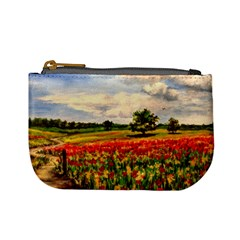 Poppies Mini Coin Purses by ArtByThree