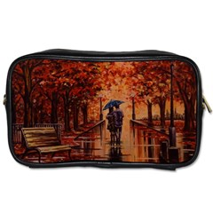 Unspoken Love  Toiletries Bags by ArtByThree