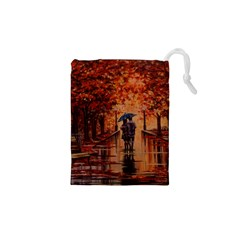 Unspoken Love  Drawstring Pouches (xs)  by ArtByThree