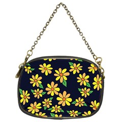 Daisy Flower Pattern For Summer Chain Purses (two Sides)  by BubbSnugg