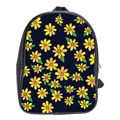 Daisy Flower Pattern For Summer School Bags(large)