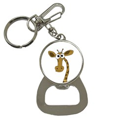 Giraffe  Bottle Opener Key Chains by Valentinaart