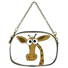 Giraffe  Chain Purses (two Sides)  by Valentinaart
