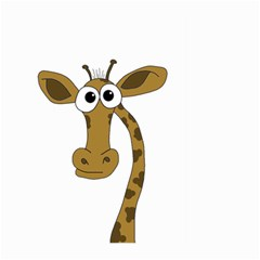 Giraffe  Large Garden Flag (two Sides) by Valentinaart