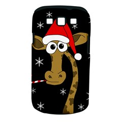 Christmas Giraffe Samsung Galaxy S Iii Classic Hardshell Case (pc+silicone) by Valentinaart