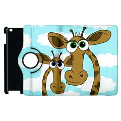 Just The Two Of Us Apple Ipad 3/4 Flip 360 Case by Valentinaart