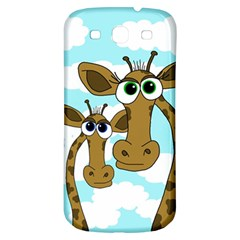 Just The Two Of Us Samsung Galaxy S3 S Iii Classic Hardshell Back Case by Valentinaart