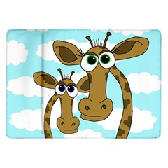 Just The Two Of Us Samsung Galaxy Tab 10 1  P7500 Flip Case by Valentinaart
