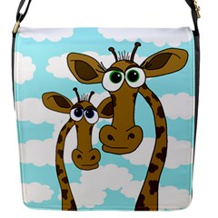 Just The Two Of Us Flap Messenger Bag (s) by Valentinaart