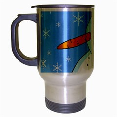 Snowman Travel Mug (silver Gray)