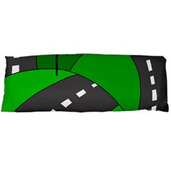 Hit The Road Body Pillow Case Dakimakura (two Sides) by Valentinaart