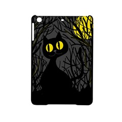 Black Cat   Halloween Ipad Mini 2 Hardshell Cases by Valentinaart