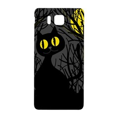 Black Cat   Halloween Samsung Galaxy Alpha Hardshell Back Case