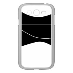 Black And White Samsung Galaxy Grand Duos I9082 Case (white) by Valentinaart
