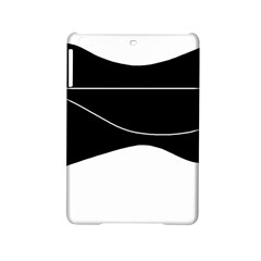 Black And White Ipad Mini 2 Hardshell Cases by Valentinaart