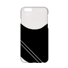 White And Black Abstraction Apple Iphone 6/6s Hardshell Case by Valentinaart