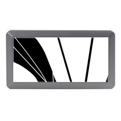 White And Black  Memory Card Reader (mini) by Valentinaart