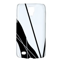 White And Black  Galaxy S4 Active by Valentinaart