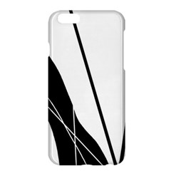 White And Black  Apple Iphone 6 Plus/6s Plus Hardshell Case