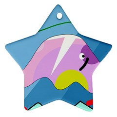 Under The Sea Ornament (star)  by Valentinaart