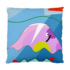 Under The Sea Standard Cushion Case (one Side) by Valentinaart