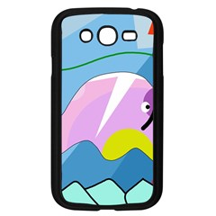 Under The Sea Samsung Galaxy Grand Duos I9082 Case (black) by Valentinaart