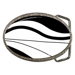 White And Black Harmony Belt Buckles by Valentinaart