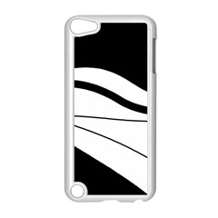 White And Black Harmony Apple Ipod Touch 5 Case (white) by Valentinaart