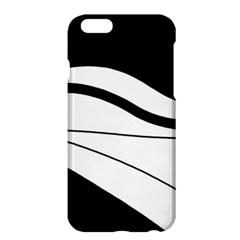 White And Black Harmony Apple Iphone 6 Plus/6s Plus Hardshell Case by Valentinaart