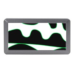 Green, White And Black Memory Card Reader (mini) by Valentinaart