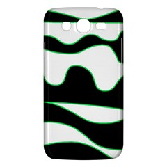 Green, White And Black Samsung Galaxy Mega 5 8 I9152 Hardshell Case  by Valentinaart