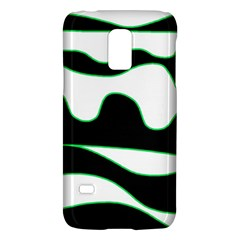 Green, White And Black Galaxy S5 Mini by Valentinaart