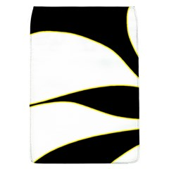 Yellow, Black And White Flap Covers (l)  by Valentinaart