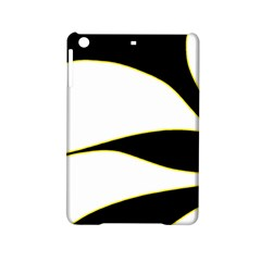 Yellow, Black And White Ipad Mini 2 Hardshell Cases by Valentinaart