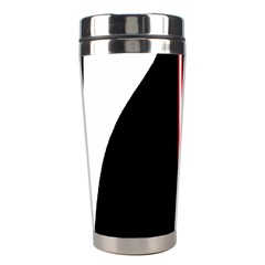White, Red And Black Stainless Steel Travel Tumblers