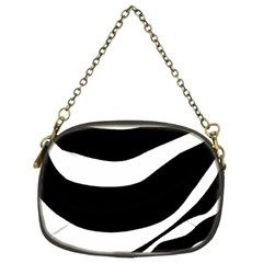 White Or Black Chain Purses (two Sides)  by Valentinaart