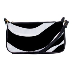 White Or Black Shoulder Clutch Bags by Valentinaart