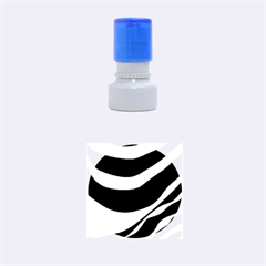 White Or Black Rubber Round Stamps (small)