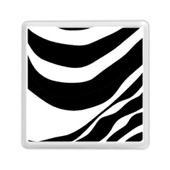 White Or Black Memory Card Reader (square)  by Valentinaart