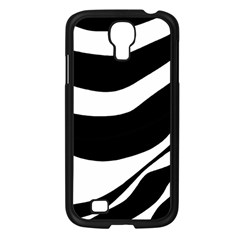 White Or Black Samsung Galaxy S4 I9500/ I9505 Case (black) by Valentinaart