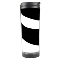 White Or Black Travel Tumbler by Valentinaart