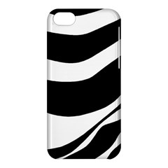 White Or Black Apple Iphone 5c Hardshell Case by Valentinaart