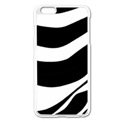 White Or Black Apple Iphone 6 Plus/6s Plus Enamel White Case by Valentinaart
