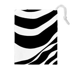 White Or Black Drawstring Pouches (extra Large)